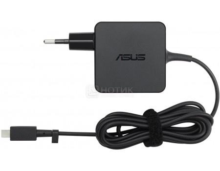 Фотография товара зарядное устройство ASUS N45W-C1 для ноутбуков и планшетов 45W, USB Type C, Черный 90XB03UN-MPW010 (52058)