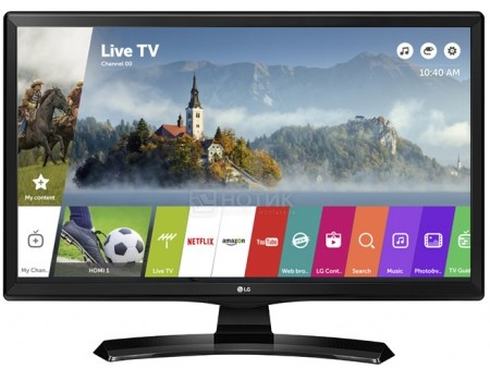 Телевизор LG 28 28MT49S-PZ LED, HD, Smart TV (webOS), Черный lg 49lh570v smart