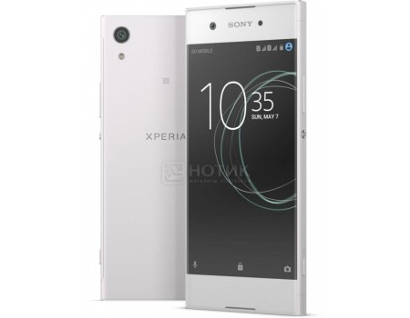 Смартфон Sony Xperia XA1 Dual White (Android 7.0 (Nougat)/MT6757 2300MHz/5.0* 1280x720/3072Mb/32Gb/4G LTE ) [G3112White], арт: 52121 - Sony