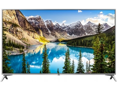 Телевизор LG 49 49UJ651V IPS, UHD, Smart TV (webOS 3.5), PMI 1900, Серебристый