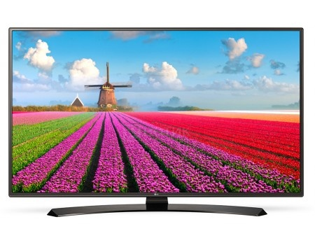 Телевизор LG 55 55LJ622V LED, Full HD, Smart TV (webOS 3.5), PMI 1000, Коричневый