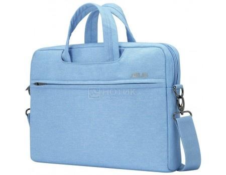 """Сумка 10""""-12"""" ASUS EOS Shoulder BAG , Полиэстер, Голубой 90XB01D0-BBA010"""