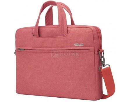 """Сумка 10""""-12"""" ASUS EOS Shoulder BAG , Полиэстер, Красный 90XB01D0-BBA030"""