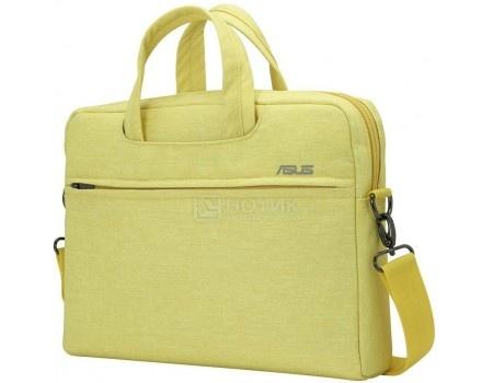 """Сумка 10""""-12"""" ASUS EOS Shoulder BAG , Полиэстер, Желтый 90XB01D0-BBA020"""