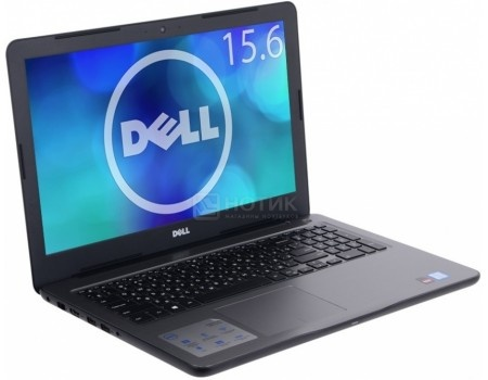 Ноутбук Dell Inspiron 5565 (15.6 LED/ A9-Series A9-9400 2400MHz/ 8192Mb/ HDD 1000Gb/ AMD Radeon R5 series 64Mb) MS Windows 10 Home (64-bit) [5565-3096]