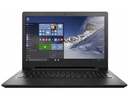 Ноутбук Lenovo IdeaPad 110-15 (15.6 LED/ E-Series E2-7110 1800MHz/ 4096Mb/ HDD 500Gb/ AMD Radeon R2 series 64Mb) Linux OS [80TJ00JBRK]