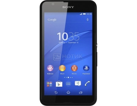 Смартфон Sony Xperia E2003 E4g LTE (Android 4.4/MT6732 1500MHz/4.7* 960x540/1024Mb/8Gb/4G LTE ) [1293-9062], арт: 52171 - Sony
