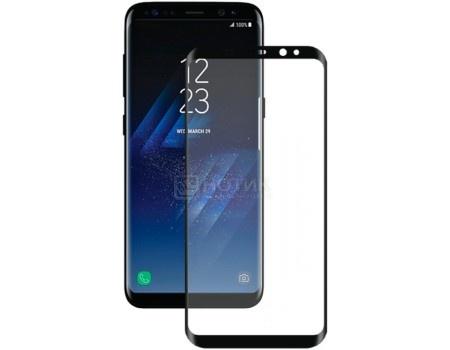 Защитное стекло Deppa для смартфона Samsung Galaxy S8 Plus, 3D, 0.3мм Черный 62351