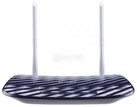 Маршрутизатор TP-Link Archer C20, 1xWAN, 3xLAN, 1xUSB2.0, 10/100/1000Мбит/с, 802.11b/g/n/ac до 733 Мбит/с, Черный, арт: 52180 - TP-Link