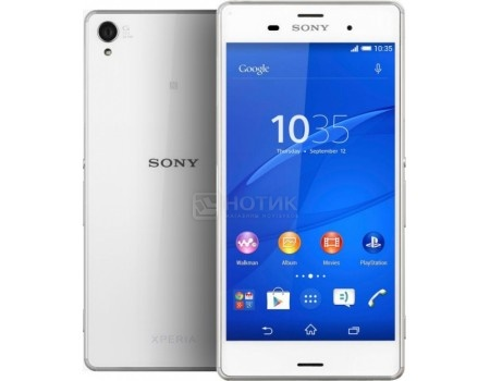 "Фотография товара sony Xperia Z3 Plus E6553 White (Android 5.0/MSM8994 2000MHz/5.2"" 1920x1080/3072Mb/32Gb/4G LTE ) [1293-9638] (52206)"