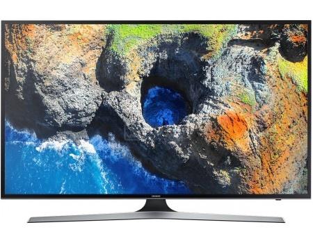 Телевизор Samsung 40 UE40MU6100U LED, UHD, Smart TV, CMR 1300, Черный led телевизор samsung ua48ju6800jxxz 48 4k wifi led
