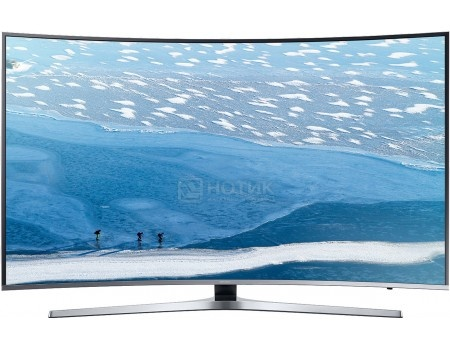 Телевизор Samsung 49 UE49KU6500U UHD, Smart TV, CMR 1600, Изогнутый экран, Серебристый телевизор philips 49pus6501 60 uhd smarttv android tv серебристый