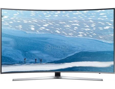 Телевизор Samsung 49 UE49KU6650U UHD, Smart TV, CMR 1600, Изогнутый экран, Титан (Серый)
