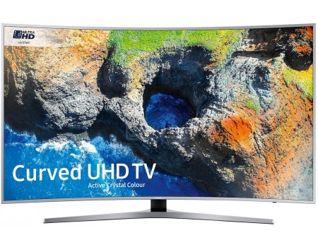 Телевизор Samsung 49 UE49MU6500U LED, UHD, Smart TV, CMR 1600, Изогнутый экран, Серебристый телевизор philips 49pus6501 60 uhd smarttv android tv серебристый