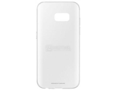 Чехол-накладка Samsung Clear Cover для Samsung Galaxy A3 2017, Поликарбонат, Clear, Прозрачный, EF-QA320TTEGRU