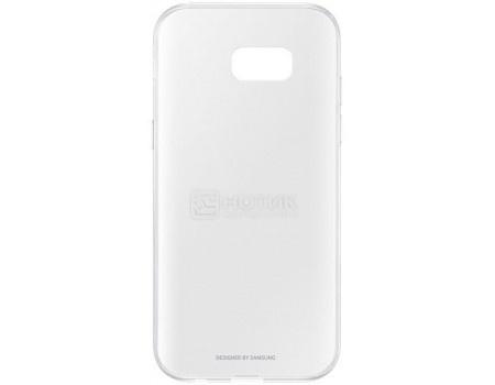 Чехол-накладка Samsung Clear Cover для Samsung Galaxy A5 2017, Поликарбонат, Clear, Прозрачный, EF-QA520TTEGRU