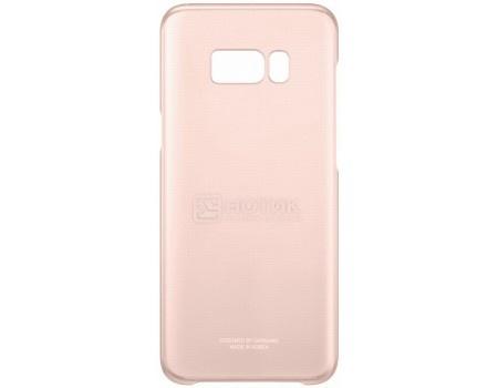 Чехол-накладка Samsung Clear Cover для Samsung Galaxy S8, Поликарбонат, Pink, Розовый/Прозрачный, EF-QG950CPEGRU