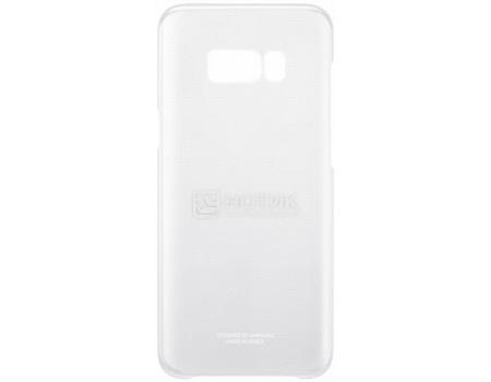 Чехол-накладка Samsung Clear Cover для Samsung Galaxy S8+ , Поликарбонат, Silver, Серебристый/Прозрачный, EF-QG955CSEGRU