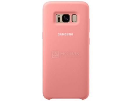Чехол-накладка Samsung Silicone Cover для Samsung Galaxy S8+ , Силикон, Pink, Розовый, EF-PG955TPEGRU