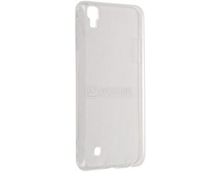 Чехол-накладка TFN для LG X Power K220DS, Полиуретан, Clear, Прозрачный CC-04-021TPUTC от Нотик