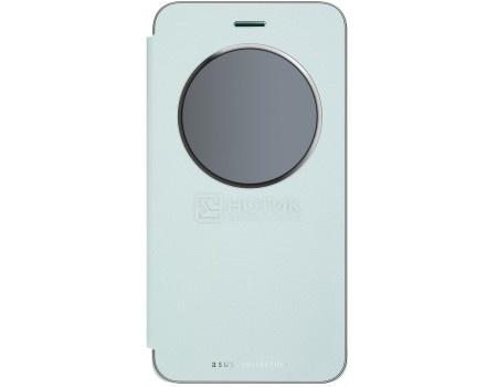 Чехол-книжка ASUS View Flip Cover для ASUS ZenFone ZE520KL, Полиуретан/Поликарбонат, Blue, Голубой, 90AC01D0-BCV009