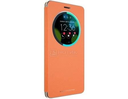 Чехол-книжка ASUS View Flip Cover для ASUS Zenfone 3 Deluxe ZS570KL, Orange, Оранжевый 90AC01E0-BCV008
