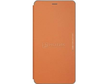 Чехол-подставка ASUS Folio Cover для ASUS Zenfone 3 Ultra ZU680KL, Полиуретан/Поликарбонат ,Orange, Оранжевый 90AC01I0-BCV003