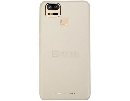 Чехол-накладка ASUS Bumper Case для ASUS ZenFone 3 Zoom ZE553KL, Полиуретан/Поликарбонат, Gold, Золотистый 90AC0250-BCS006