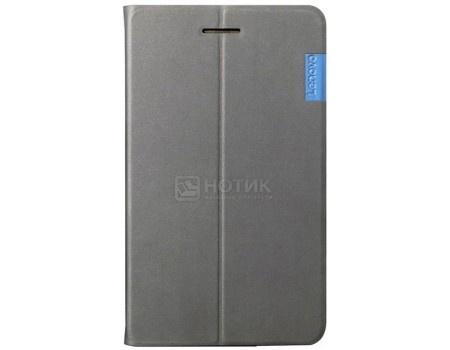чехол-книжка-lenovo-folio-case-film-для-lenovo-tab-3-tb3-730x-полиуретан-пластик-gray-серый-zg38c01054