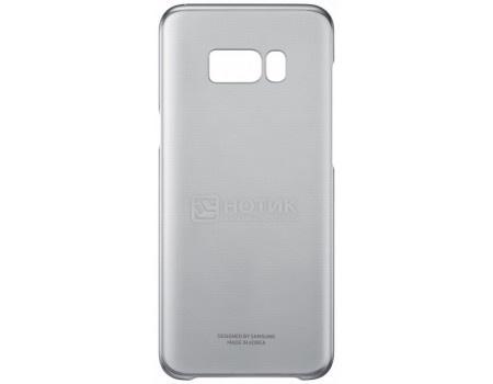 Чехол-накладка Samsung Clear Cover для Samsung Galaxy S8, Поликарбонат, Black, Черный/Прозрачный, EF-QG950CBEGRU