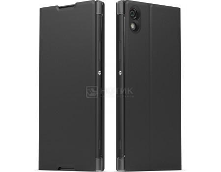 Чехол-подставка Sony Cover Stand для Xperia XA1, Пластик, Черный SCSG30 Black от Нотик