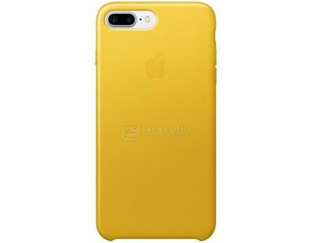 Чехол-накладка Apple Leather Case Sunflower для iPhone 7 Plus MQ5J2ZM/A, Кожа, Желтый