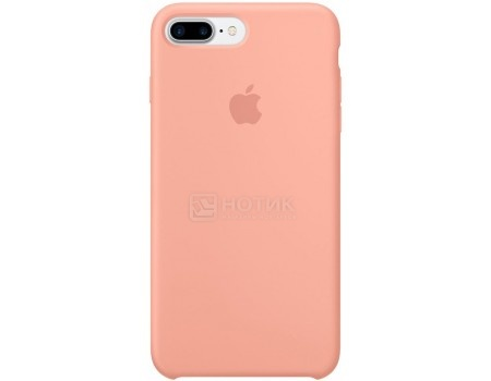 Чехол-накладка Apple Silicone Case Flamingo для iPhone 7 Plus MQ5D2ZM/A, Силикон, Розовый