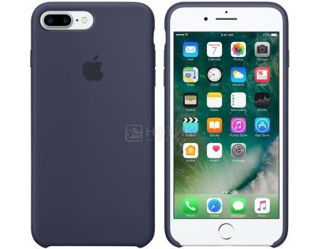 Чехол-накладка Apple Silicone Case Midnight Blue для iPhone 7 Plus MMQU2ZM/A Силикон, Темно-синий