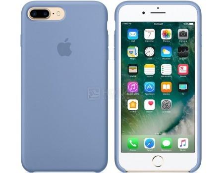 Чехол-накладка Apple Silicone Case Sea Azure для iPhone 7 Plus MQ0M2ZM/A, Силикон, Голубой