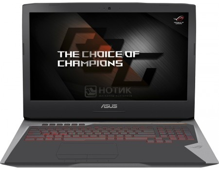 Ноутбук ASUS ROG G752VS-GC438T (17.3 IPS (LED)/ Core i7 7700HQ 2800MHz/ 16384Mb/ HDD+SSD 1000Gb/ NVIDIA GeForce® GTX 1070 8192Mb) MS Windows 10 Home (64-bit) [90NB0D71-M07120	] 2017 sexy brazilian monokini solid bandage push up bathing suit one piece swimsuit women beachwear high neck swimwear bodysuits