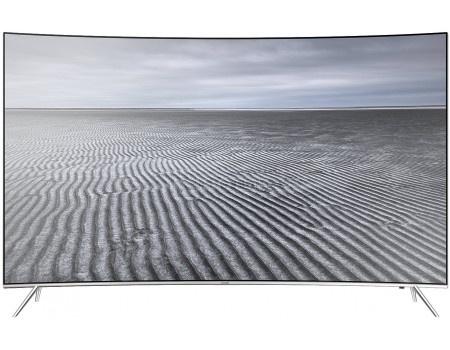 Телевизор Samsung 55 UE55KS7500U LED, UHD, Smart TV, CMR 2200, Изогнутый экран, Серебристый
