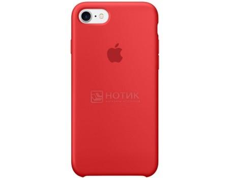 Чехол-накладка Apple Silicone Case PRODUCT RED для iPhone 7 MMWN2ZM/A, Силикон, Красный