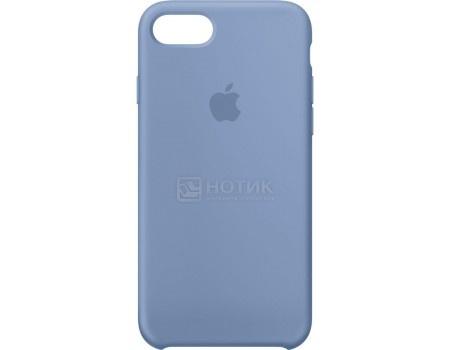 Чехол-накладка Apple Silicone Case Azure для iPhone 7 MQ0J2ZM/A, Силикон, Голубой