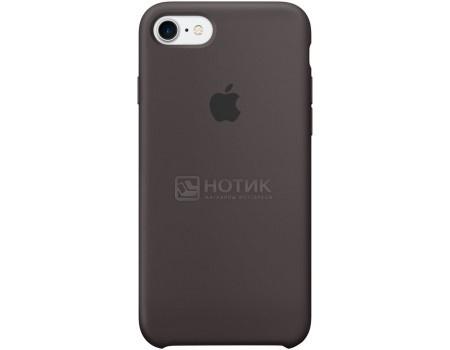 Чехол-накладка Apple Silicone Case Cocoa для iPhone 7 MMX22ZM/A, Силикон, Темно-коричневый