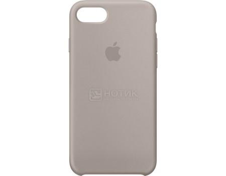 Чехол-накладка Apple Silicone Case Pebble для iPhone 7 MQ0L2ZM/A, Силикон, Серый