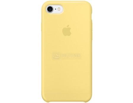 Чехол-накладка Apple Silicone Case Pollen для iPhone 7 MQ5A2ZM/A, Силикон, Желтый