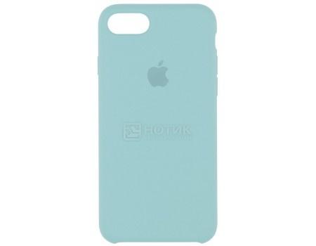 Чехол-накладка Apple Silicone Case Sea Blue для iPhone 7 MMX02ZM/A, Силикон, Бледно-голубой
