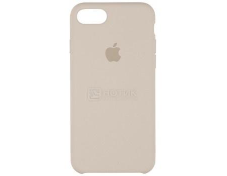 Чехол-накладка Apple Silicone Case Stone для iPhone 7 MMWR2ZM/A, Силикон, Светло-серый