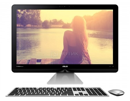 Моноблок ASUS Zen AiO ZN270IEGK-RA055T (27.0 LED/ Core i7 7700T 2900MHz/ 12288Mb/ HDD+SSD 1000Gb/ NVIDIA GeForce GT 940MX 2048Mb) MS Windows 10 Home (64-bit) [90PT01R1-M01780]