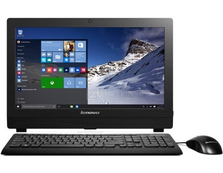 Фотография товара моноблок Lenovo S200z (19.5 TN (LED)/ Celeron Dual Core J3060 1600MHz/ 2048Mb/ SSD / Intel HD Graphics 400 64Mb) Free DOS [10K4003LRU] (52520)