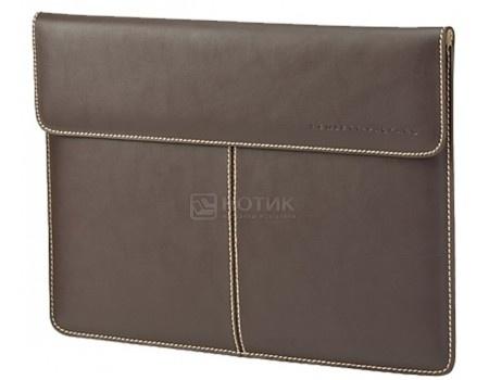 "Чехол 13.3"" HP Leather Sleeve , F3W21AA, Кожа, Коричневый"