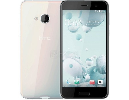 Смартфон HTC U Play DS Ice White 32Gb (Android 7.0 (Nougat)/MT6755 1800MHz/5.2 1920x1080/3072Mb/32Gb/4G LTE ) [99HALV045-00] htc u ultra 64gb ice white