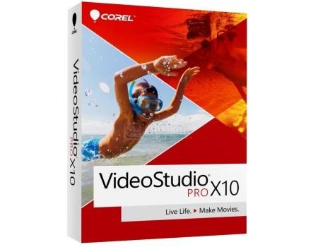 Электронная лицензия Corel VideoStudio Pro X10 ML, ESDVSPRX10ML EN/FR/IT/DE/NL