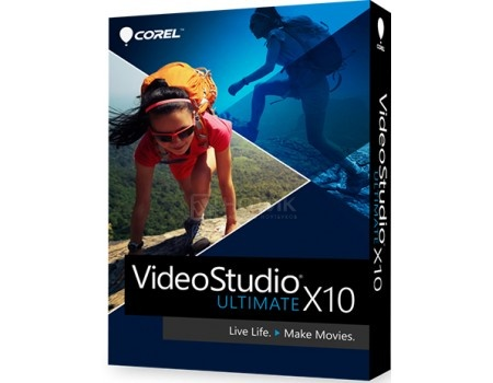 Электронная лицензия Corel VideoStudio Ultimate X10 ML, ESDVSPRX10ULML EN/FR/IT/DE/NL